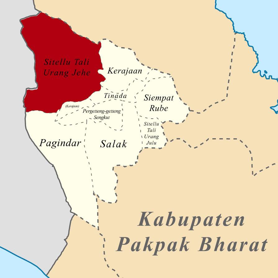 Peta Wilayah STU Jehe